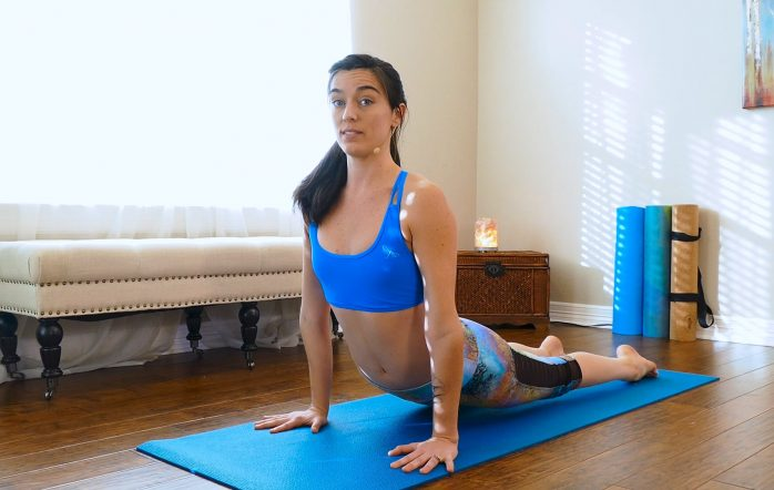 Sun salutes are essential to any yoga flow, and it