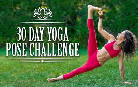 30 Day Yoga Pose Challenge