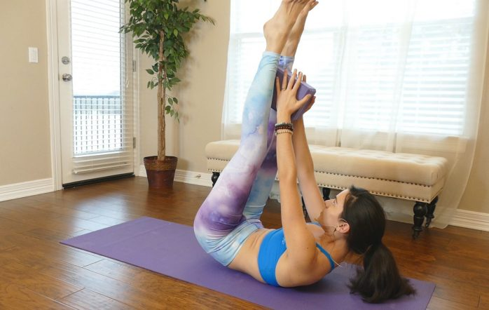 Having a strong core is more than just having a bikini body. Those core muscles are essential for yoga and can really make a difference when it comes to the more difficult poses